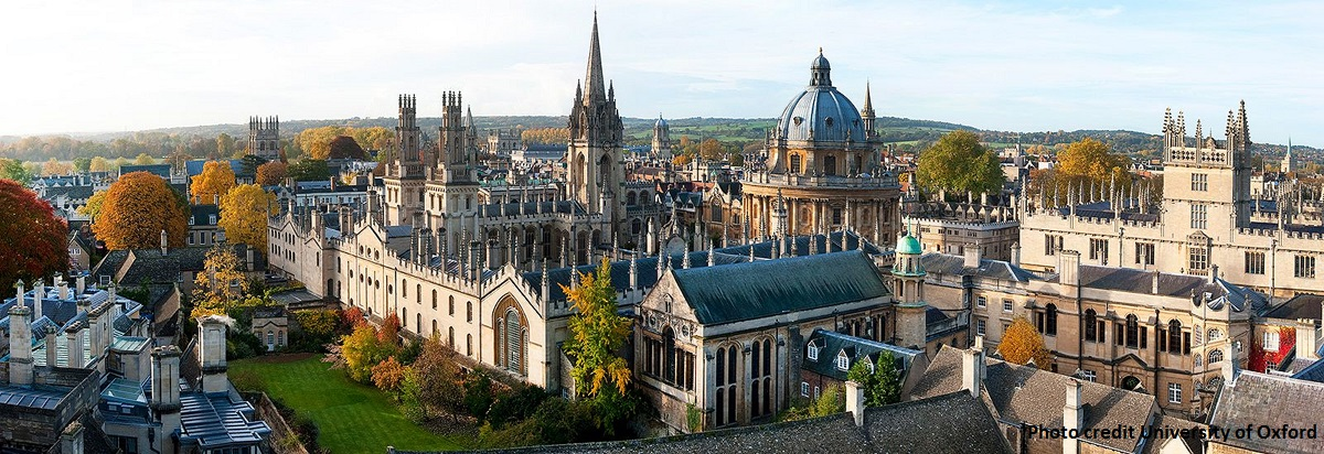 Oxford and surrounding villages