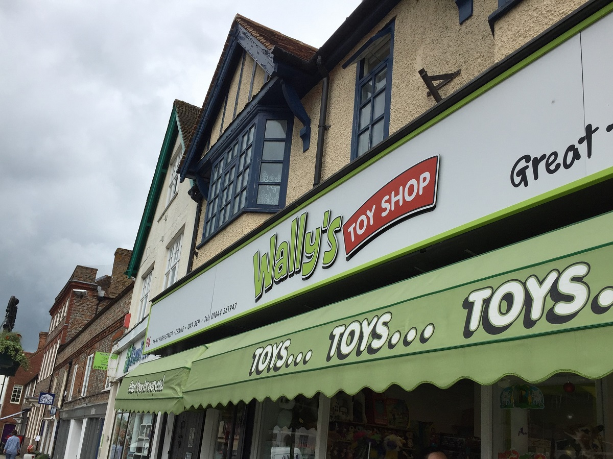 Wally's, more than just a toy shop!
