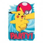 Pokemon Party Invitations