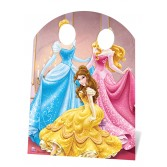 Princess cutout