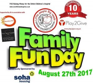 Free day out with the kids in Didcot on 27th August 2017