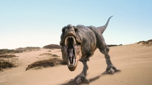 Dinosaur at Banbury Museum