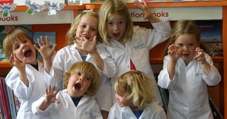 Fun pre-school science classes