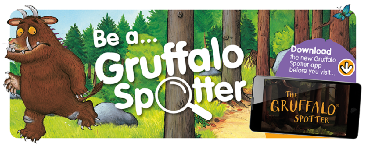 Gruffalo Spotters Trails at Wendover Woods