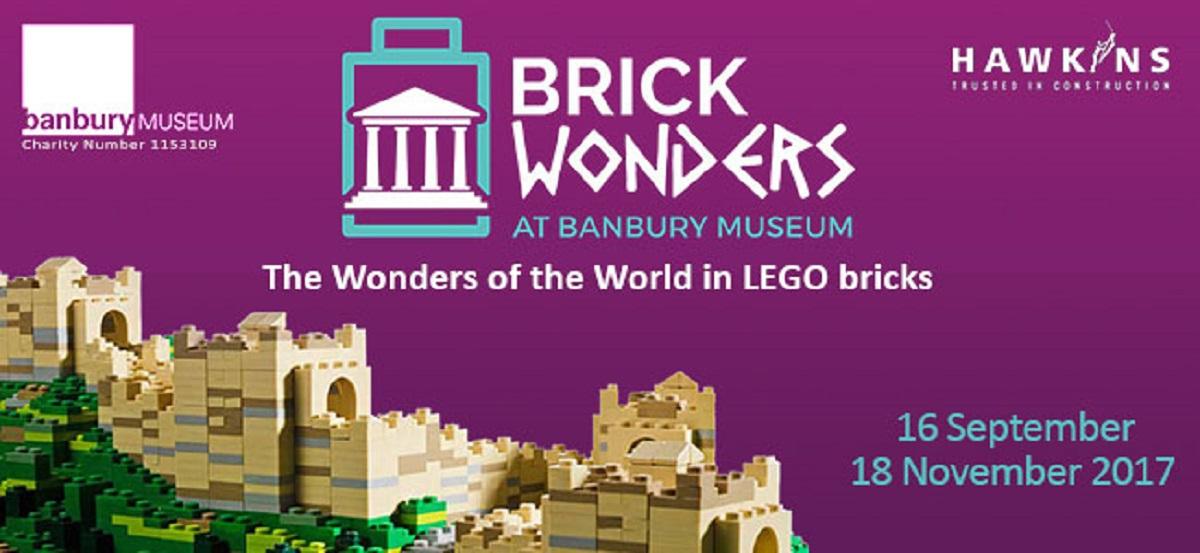 Brick Wonders Lego Exhibition at Banbury Museum