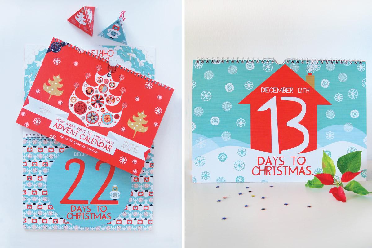 Christmas Advent Calendars by Sam Osborne