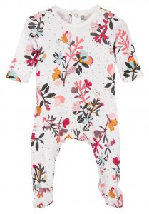 Patterned sleepsuit