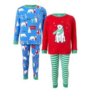 Polar bear pyjamas