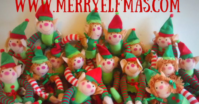 Elf doors, Elf food, Elf wine and more with Merry Elfmas