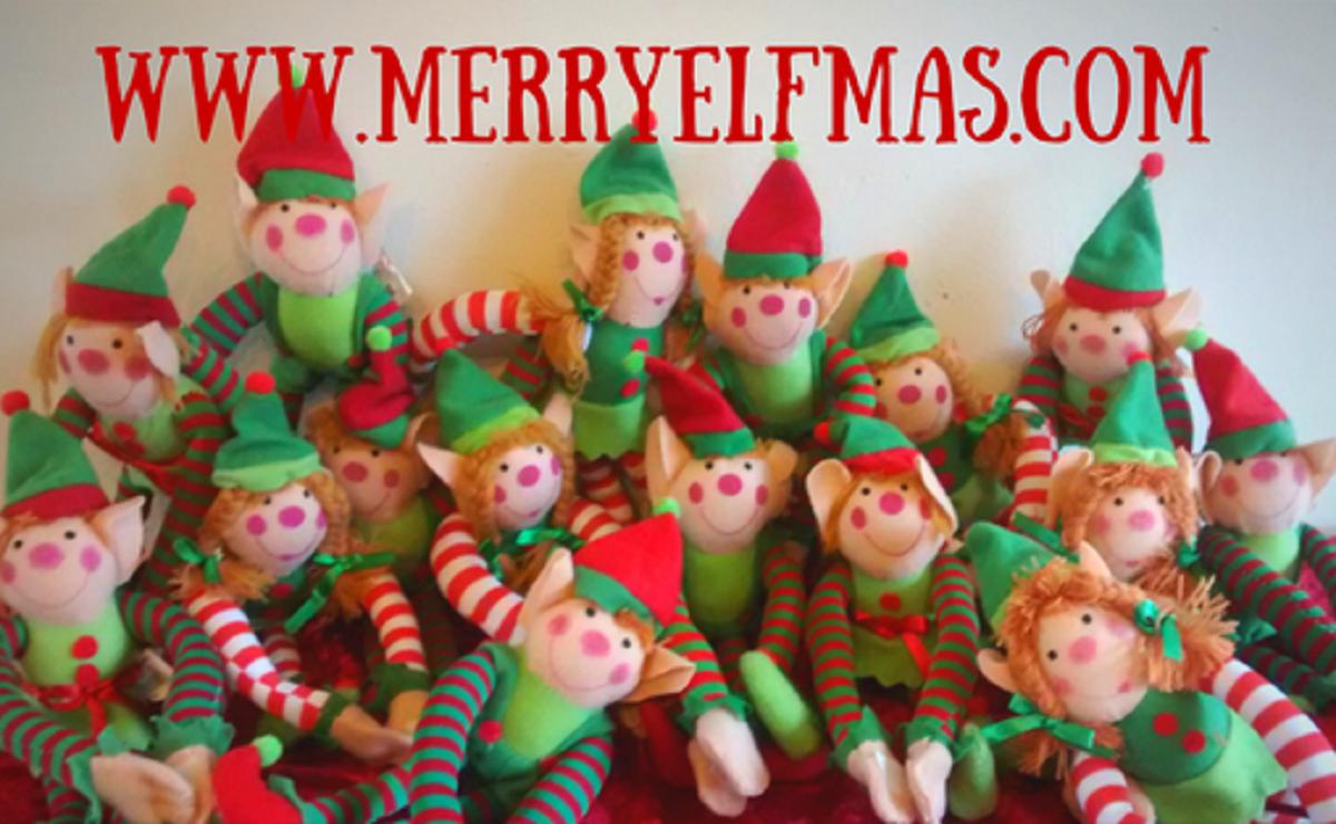 Elf doors, Elf food, Elf wine and more with Merry Elfmas