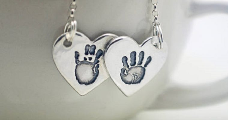 Personal Christmas Gift Idea – Handprint and FingerPrint Jewellery