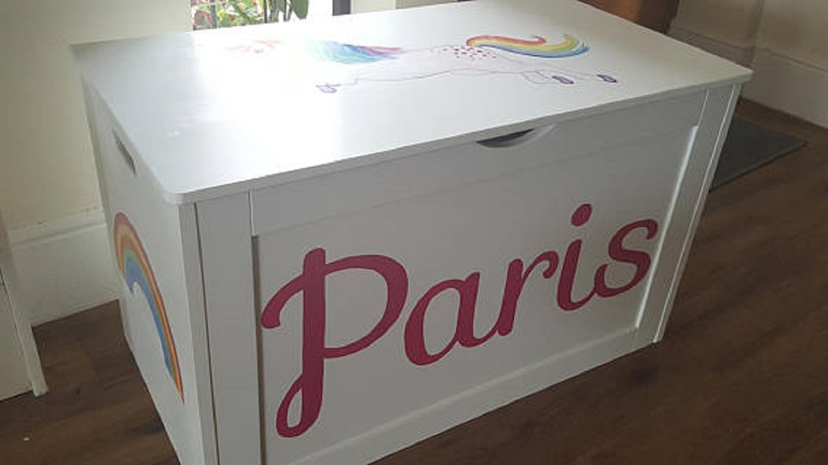 Personalised Hand Painted Wooden Toy Amp Keepsake Boxes