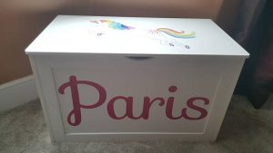 unicorn toy box