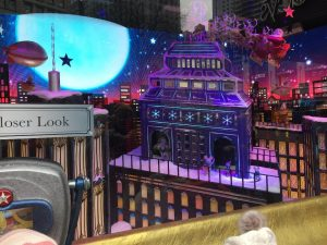 Macy's window New York
