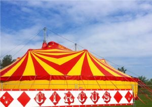 circus John Lawson's circus at Millets Farm