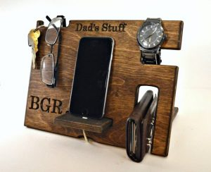 Personalised Dad's Stuff Organiser
