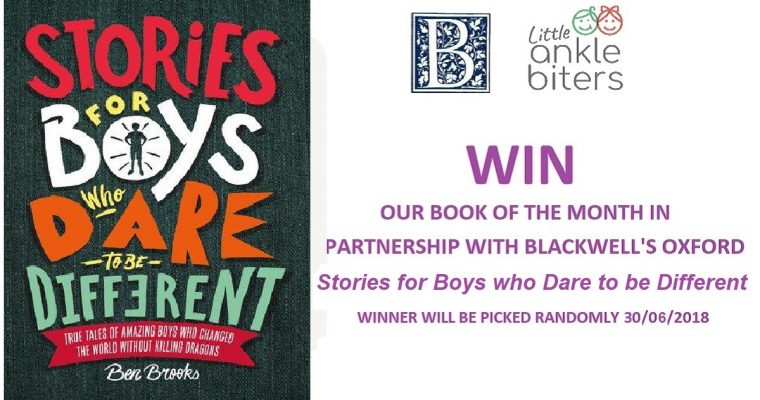 Win our book of the month with Blackwell's Oxford
