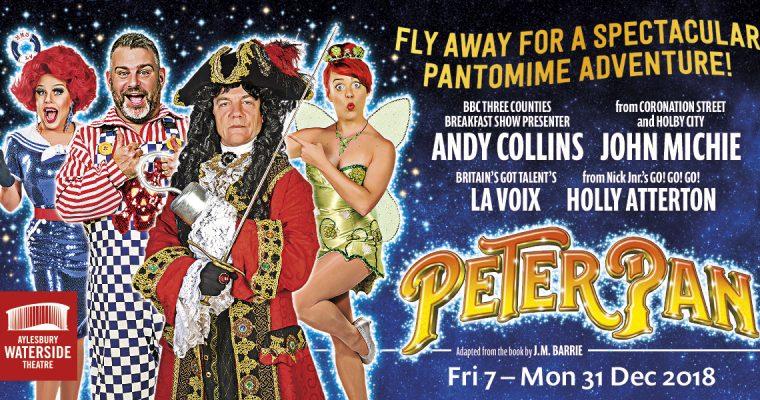 Peter Pan Panto – Aylesbury Waterside Theatre