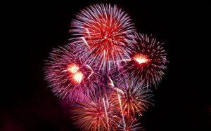 Fireworks in haddenham