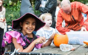 Pumpkin Carving at Waddesdon
