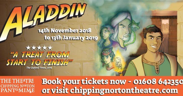 Aladdin Panto at Chipping Norton Theatre