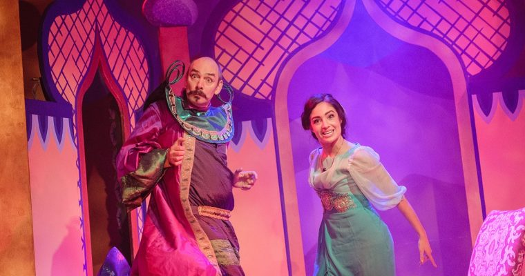 Our Review of Aladdin Panto at Chipping Norton