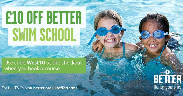 £10 off Better Swim School