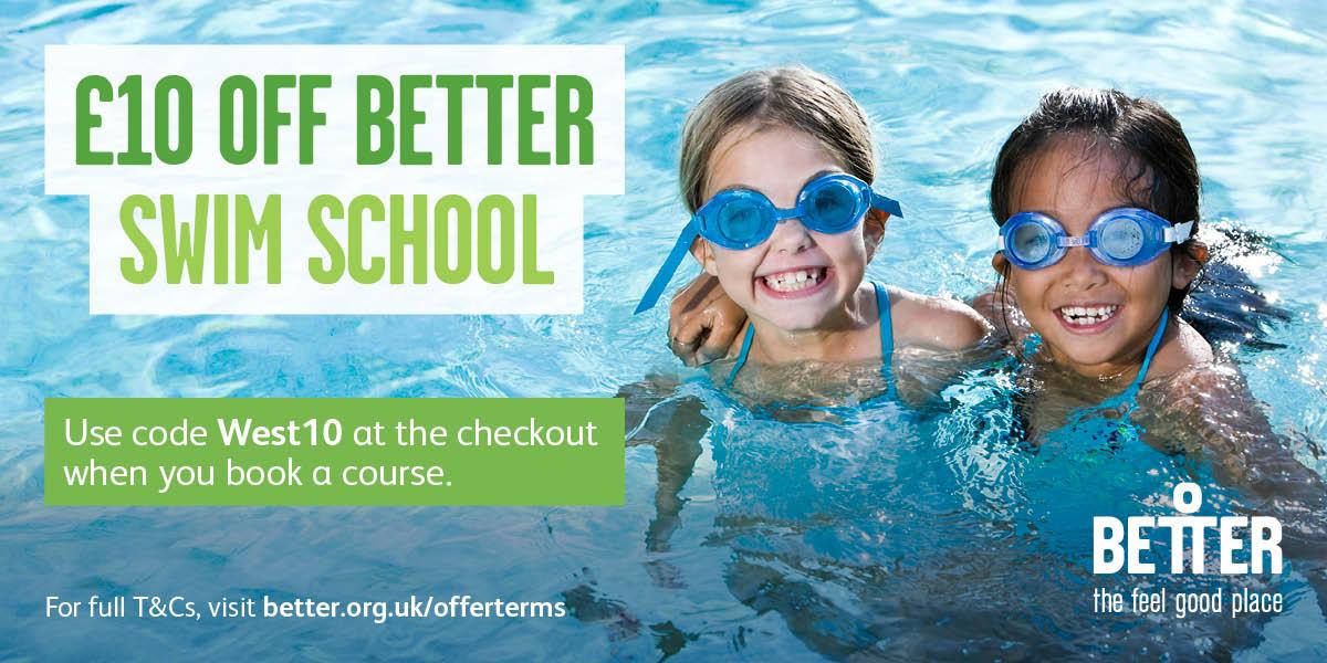 £10 off Better Swim School